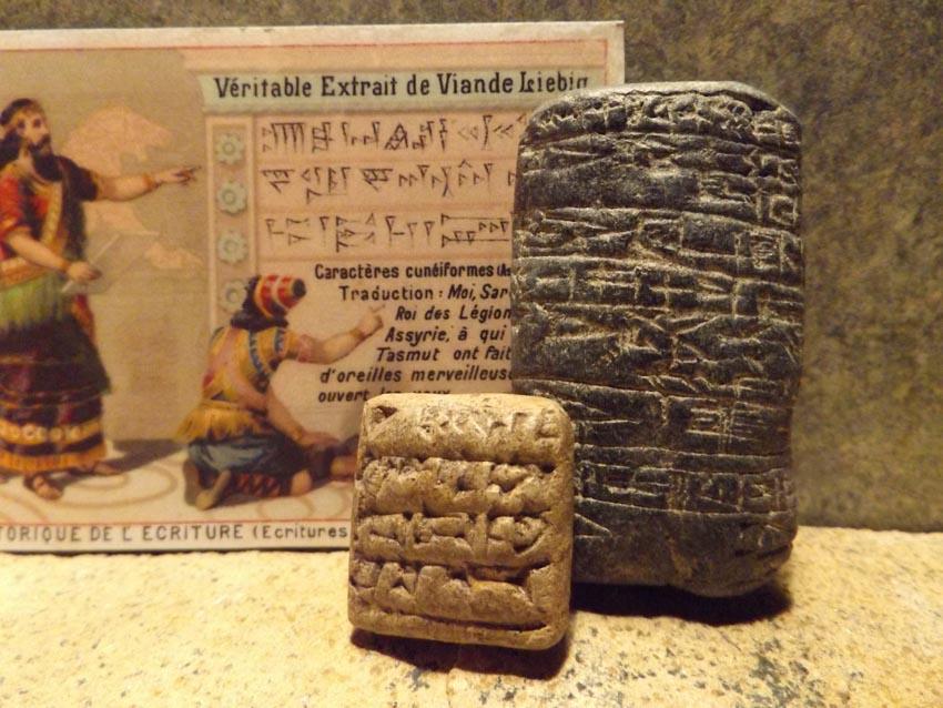 Những chữ viết đầu tiên của nhân loại-4
