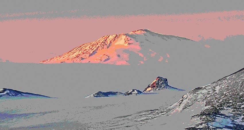 Những ngọn núi lửa khổng lồ ẩn dưới lớp băng Nam cực-1