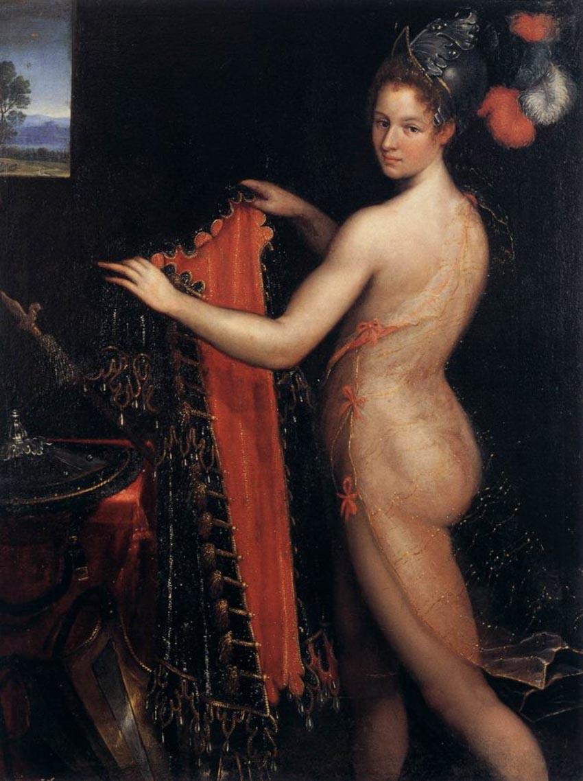 Nữ họa sĩ và 500 năm lộng lẫy: bất chấp định kiến, vẽ tranh khỏa thân-1
