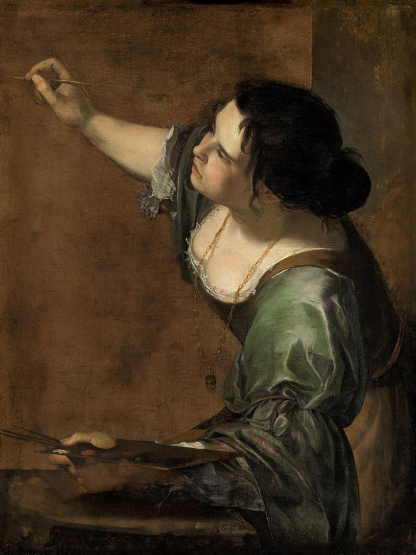 Nữ họa sĩ và 500 năm lộng lẫy: bất chấp định kiến, vẽ tranh khỏa thân-3