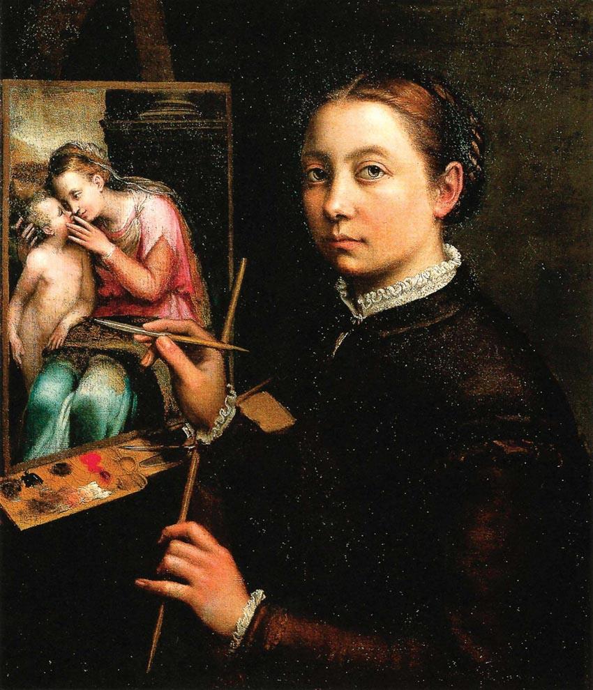 Nữ họa sĩ và 500 năm lộng lẫy: bất chấp định kiến, vẽ tranh khỏa thân-5