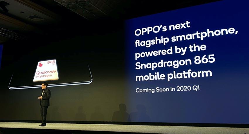 Sản phẩm flagship của OPPO sử dụng Snapdragon 865 sẽ ra mắt Quý I năm 2020 -1