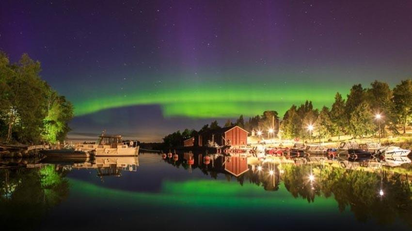 """Sống trong vùng """"mặt trời nửa đêm"""" Lapland-1"""