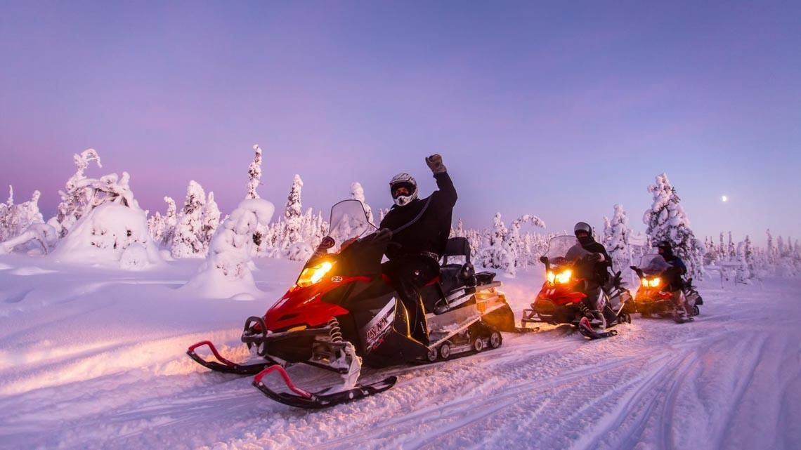 """Sống trong vùng """"mặt trời nửa đêm"""" Lapland-14"""