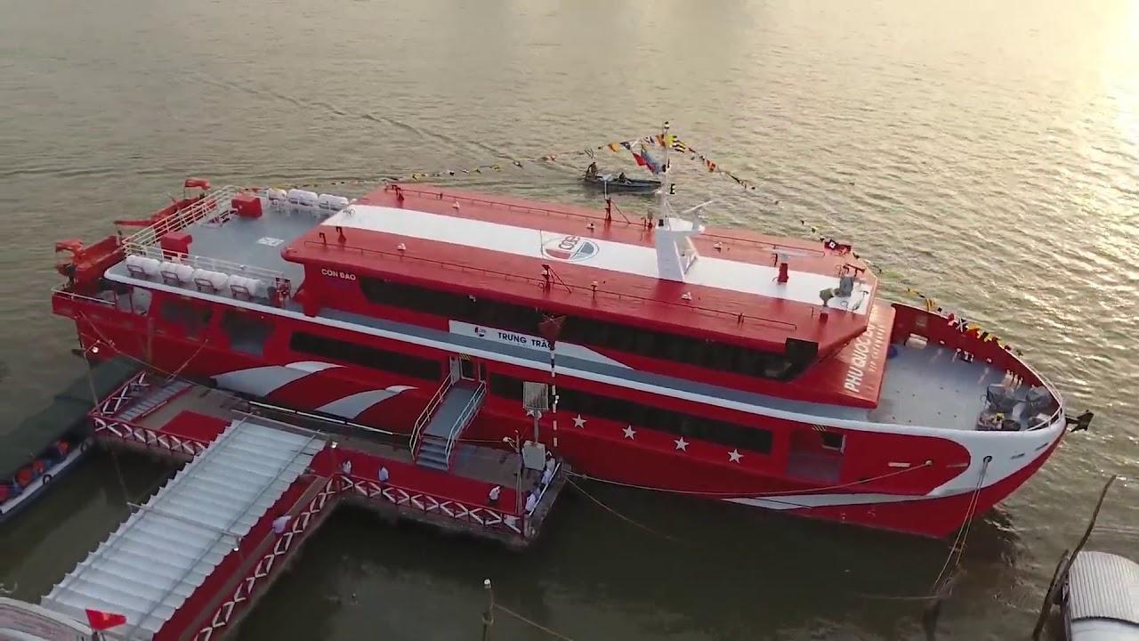 Kết nối Cần Thơ - Trần Đề - Côn Đảo bằng tàu cao tốc lớn nhất Việt Nam - 2