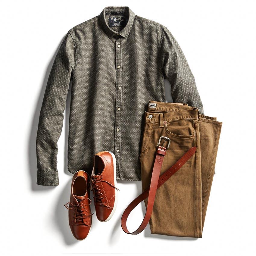 Thắt lưng và giày - bộ đôi cộng hưởng của phong cách-12