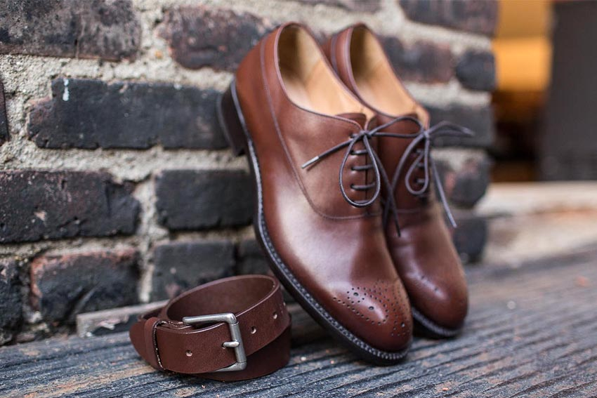 Thắt lưng và giày - bộ đôi cộng hưởng của phong cách-13