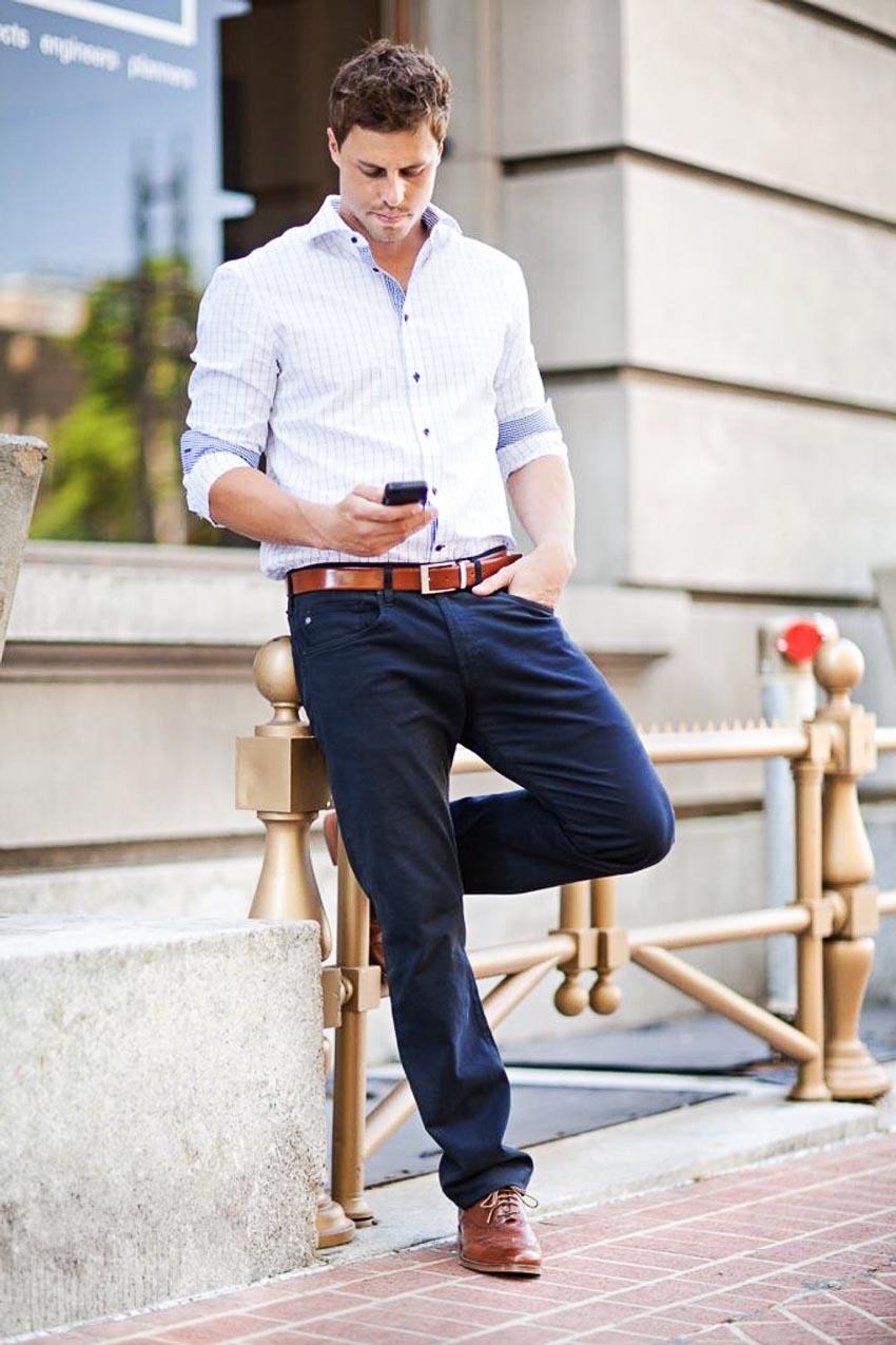 Thắt lưng và giày - bộ đôi cộng hưởng của phong cách-7
