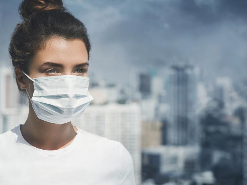 Tự bảo vệ trước tình trạng ô nhiễm không khí - 1