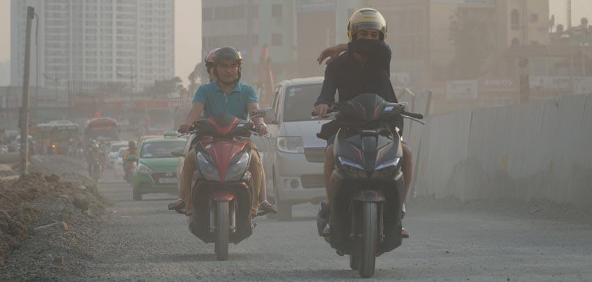 Tự bảo vệ trước tình trạng ô nhiễm không khí - 2