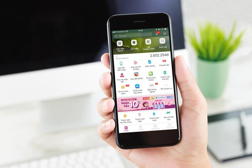 Ví MoMo được chọn là kênh thanh toán điện tử của Cổng Dịch vụ công Quốc gia-2