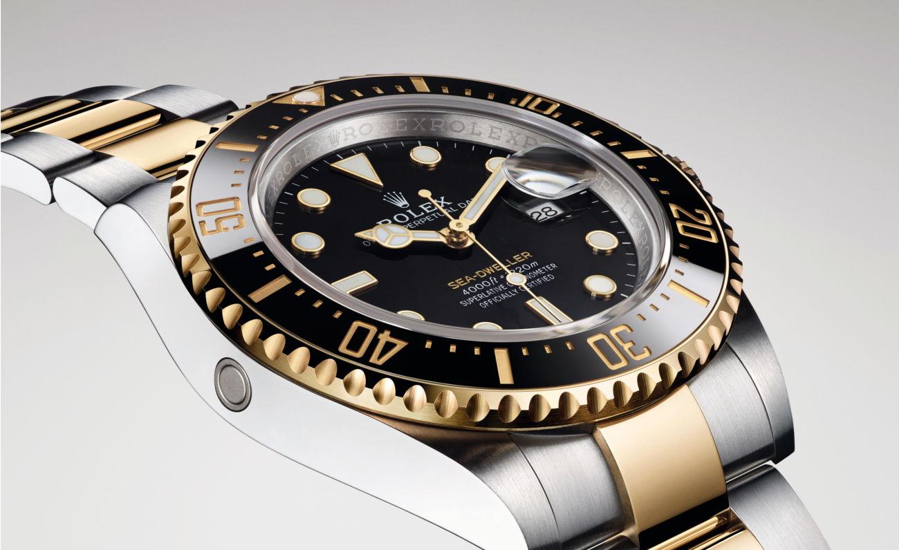 Rolex ra mắt Oyster Perpetual Sea-Dweller phiên bản vàng Rolesor - 2