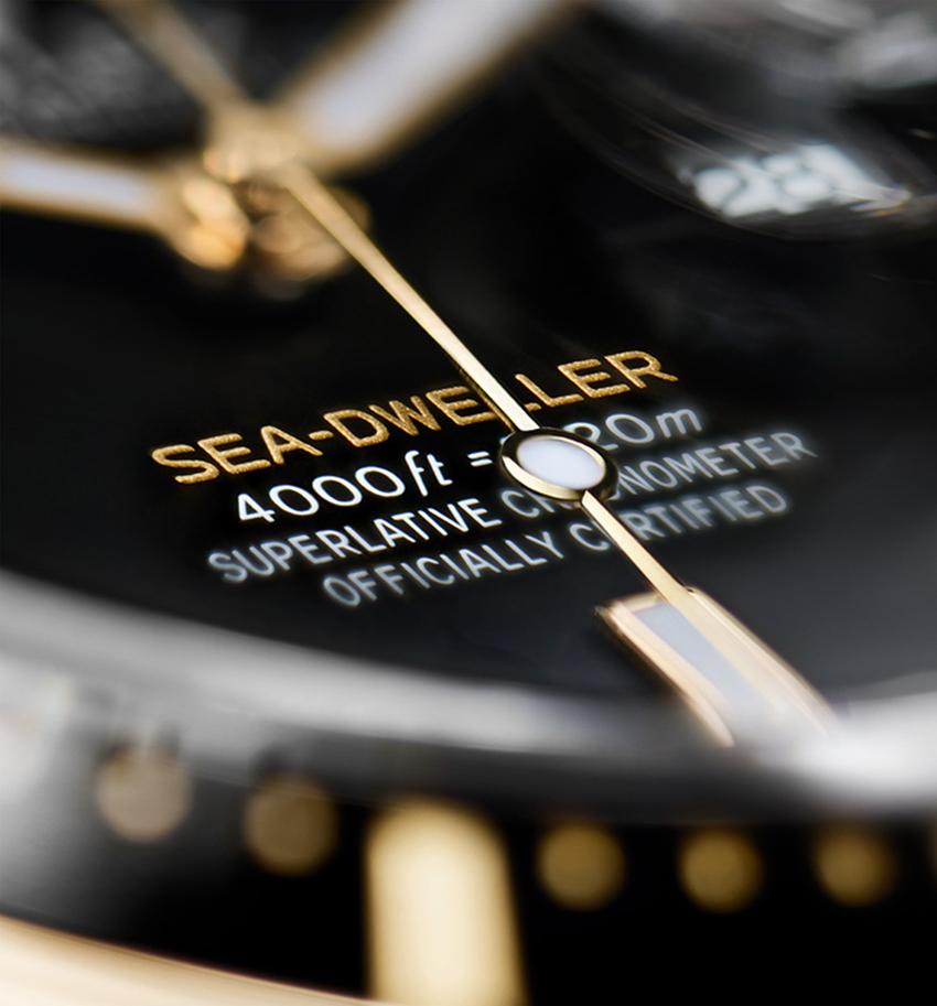 Rolex ra mắt Oyster Perpetual Sea-Dweller phiên bản vàng Rolesor - 4