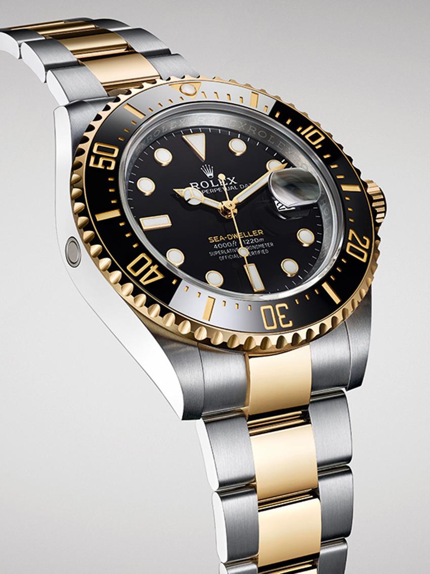Rolex ra mắt Oyster Perpetual Sea-Dweller phiên bản vàng Rolesor - 5