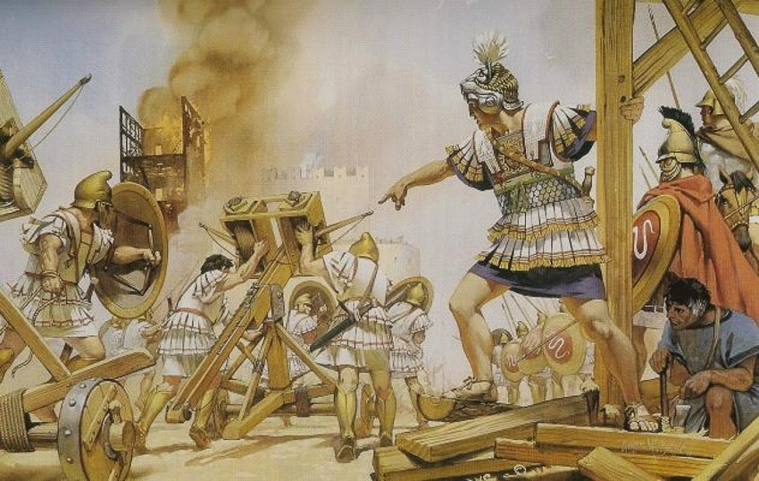 Những vũ khí công thành và giữ thành kỳ lạ trong lịch sử - 5