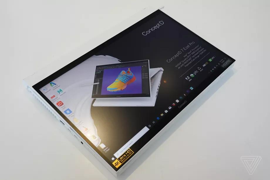 Máy tính xách tay Acer giới thiệu ConceptD 7 Ezel mới của chúng tôi