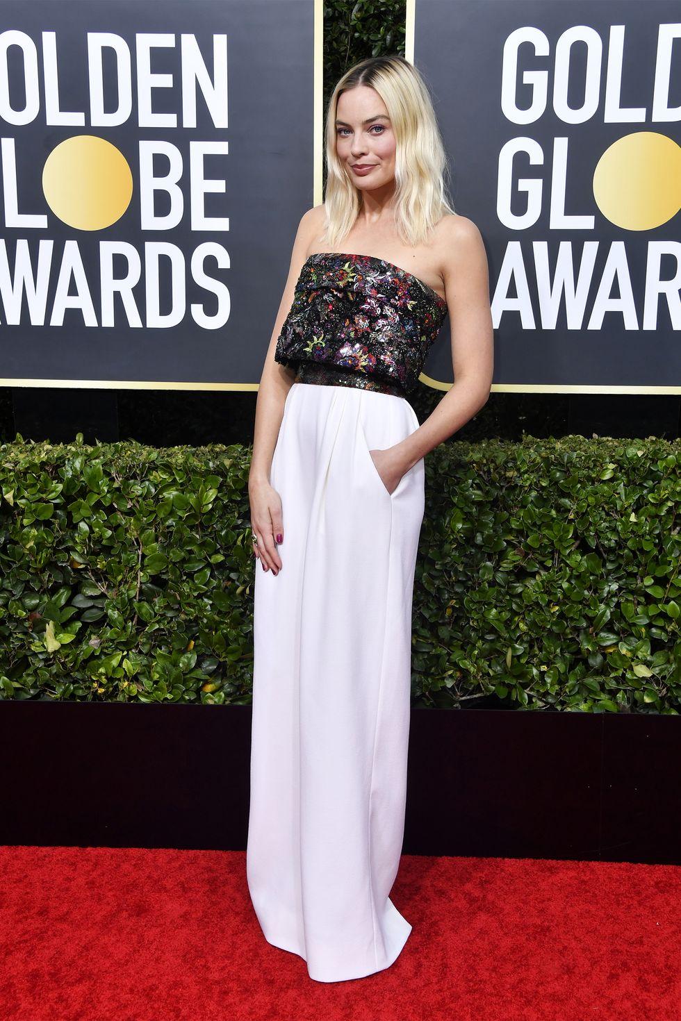 Thảm đỏ quả cầu vàng 2020- Margot Robbie