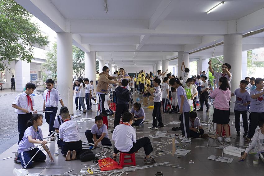 Nhiều hoạt động bổ ích trong Mega Workshop tại trường THPT chuyên Trần Đại Nghĩa - 2