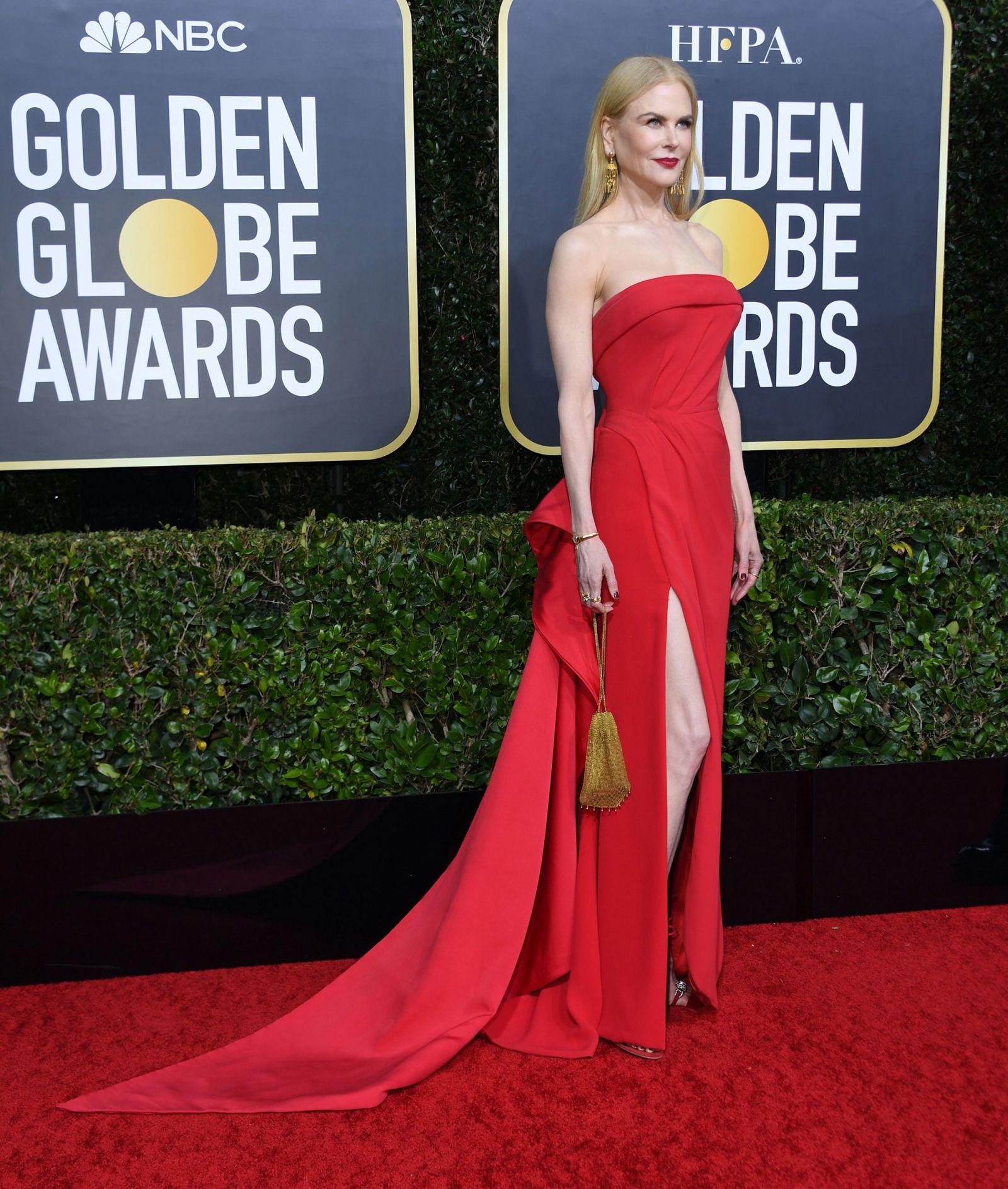 Thảm đỏ Quả Cầu Vàng 2020 Nicole Kidman