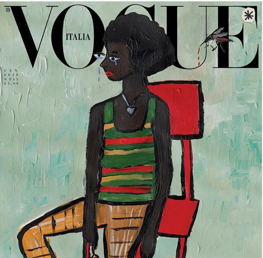 Phá lệ 55 năm, tạp chí Vogue ra số không ảnh chụp - 2