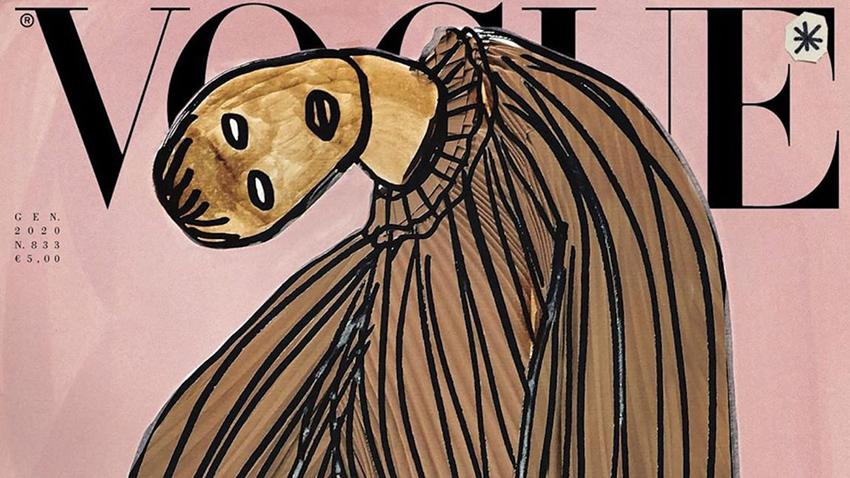 Phá lệ 55 năm, tạp chí Vogue ra số không ảnh chụp - 3