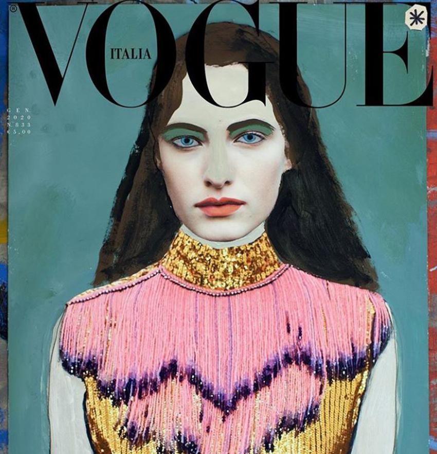 Phá lệ 55 năm, tạp chí Vogue ra số không ảnh chụp - 4