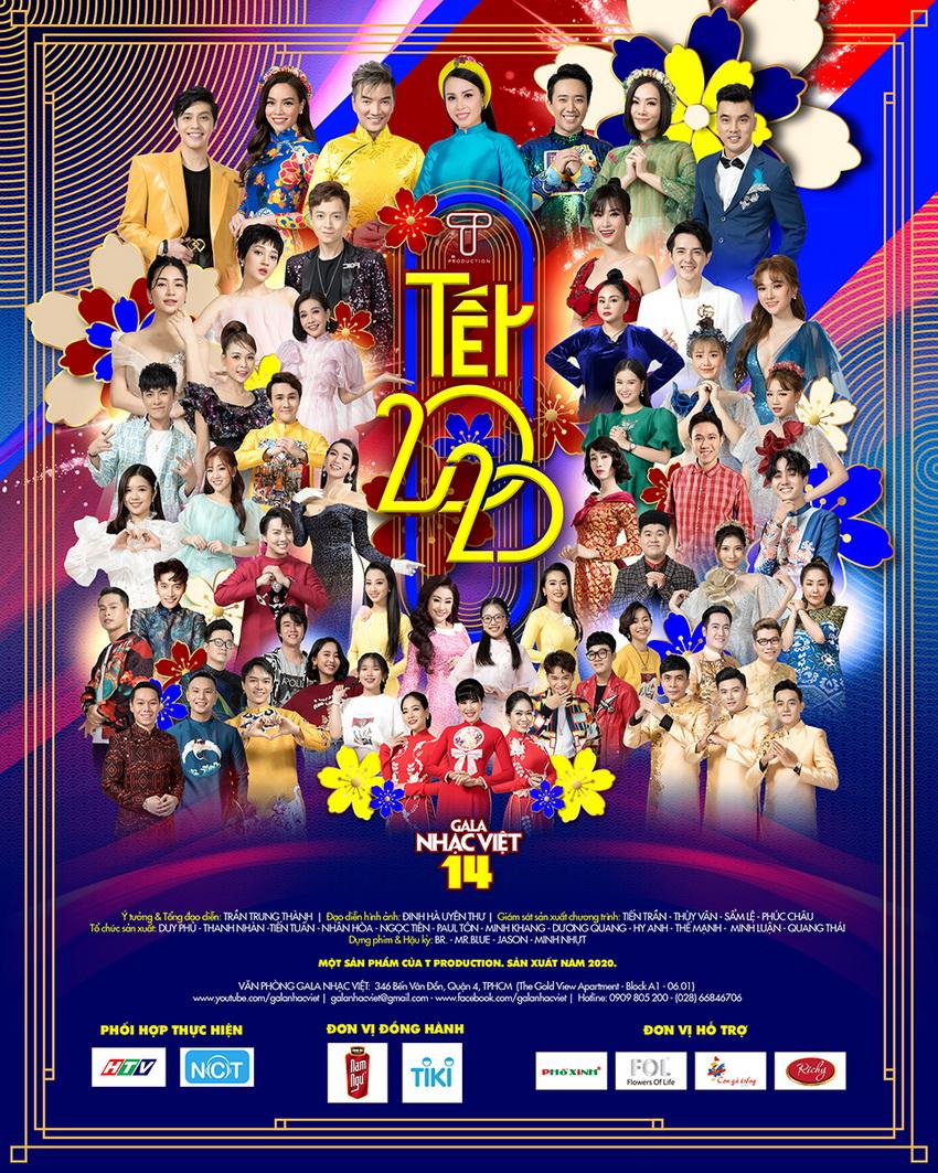 Gala Nhạc Việt chính thức ra mắt Tết 2020 chương trình giải trí Tết hoành tráng -1