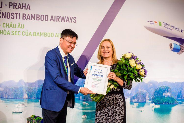 Bamboo Airways mở đường bay thẳng Hà Nội - Praha - 1