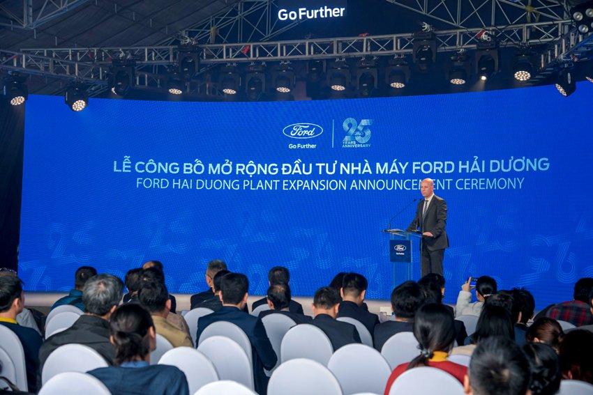 Mở rộng nhà máy Ford Hải Dương