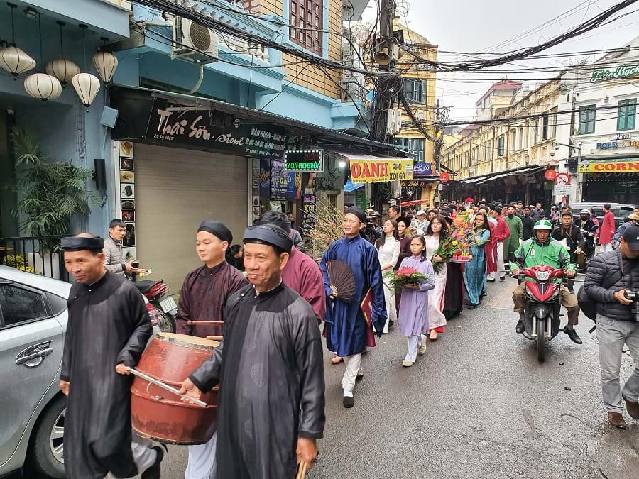 Hà Nội tái hiện Tết xưa trên phố nay - 3
