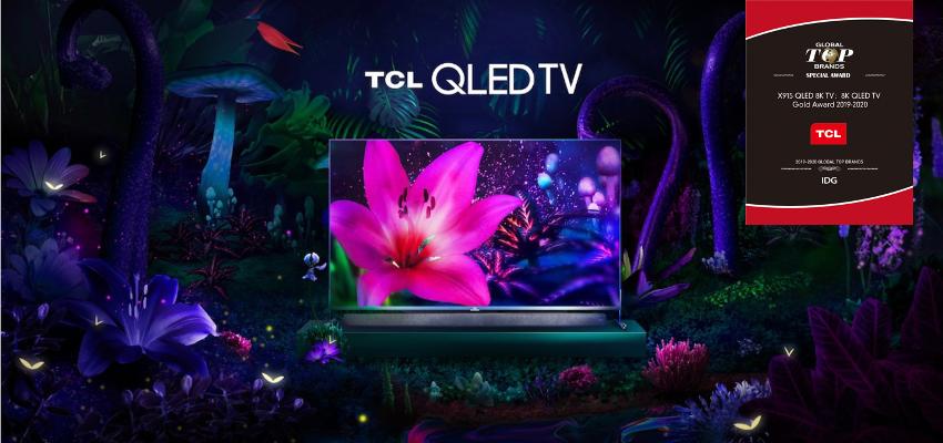 TV 8K QLED X915 của TCL