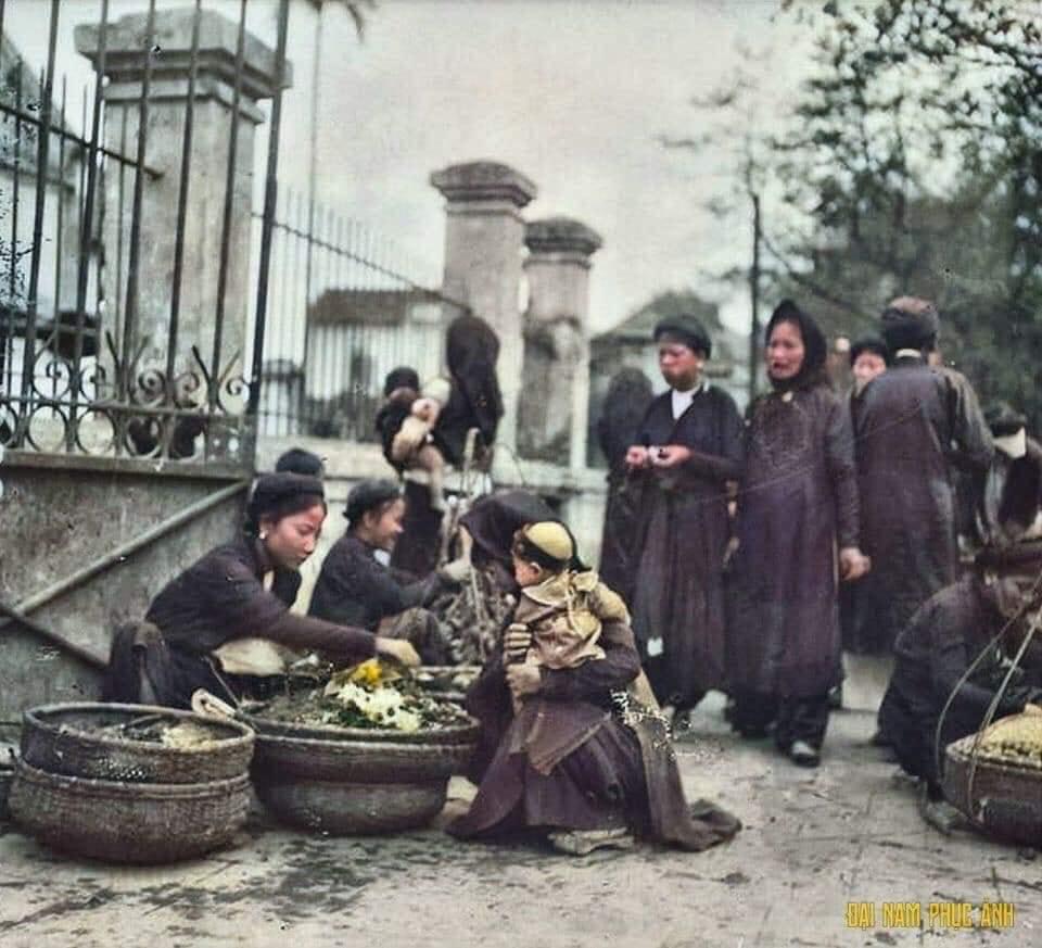 Bộ ảnh Tết cổ truyền năm 1920, đúng 100 năm trước của nhiếp ảnh gia nước ngoài - 02