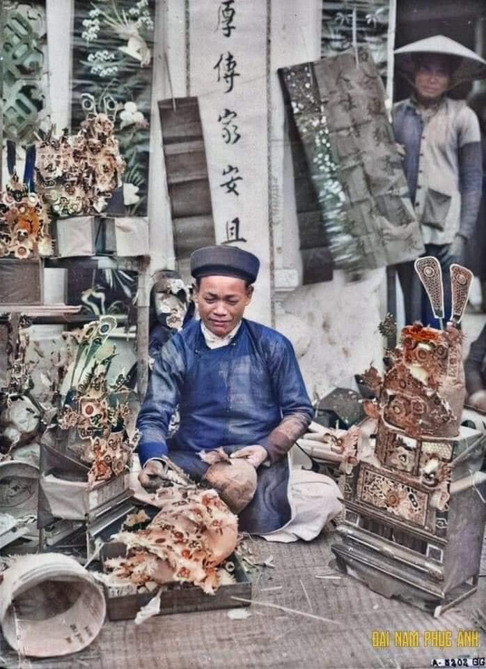 Bộ ảnh Tết cổ truyền năm 1920, đúng 100 năm trước của nhiếp ảnh gia nước ngoài - 04