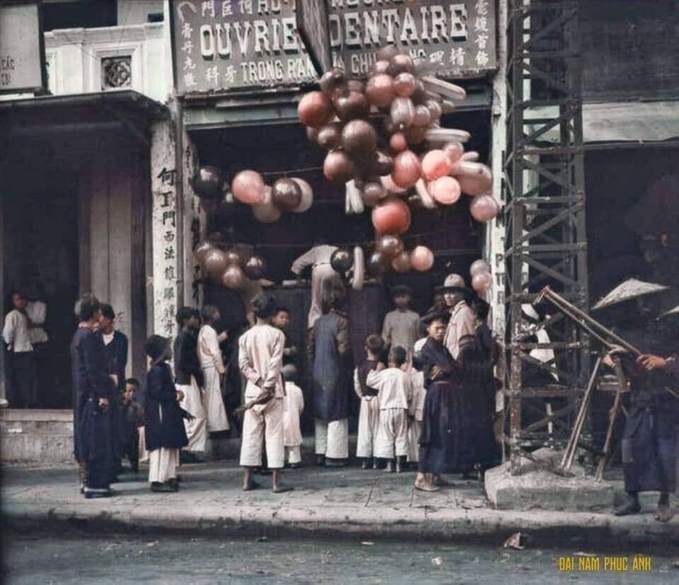 Bộ ảnh Tết cổ truyền năm 1920, đúng 100 năm trước của nhiếp ảnh gia nước ngoài - 06