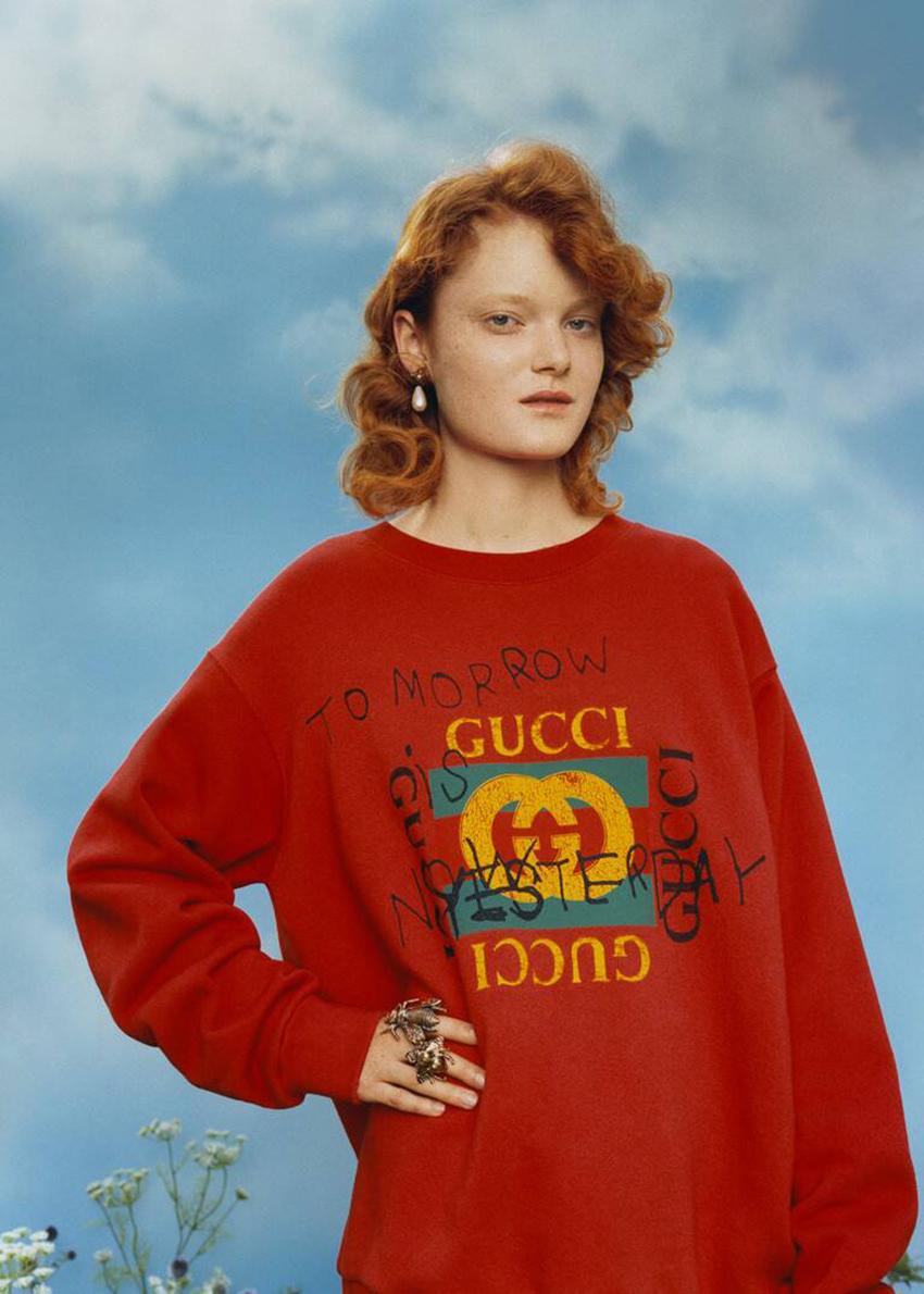 Gucci làm dậy sóng mạng xã hội, kế hoạch truyền thông của nhà mốt Ý? - 6