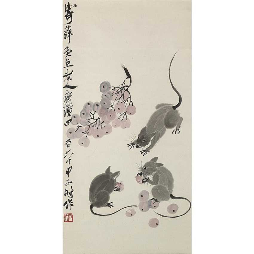 Ngắm những bức tranh chuột nổi tiếng trong lịch sử - 6