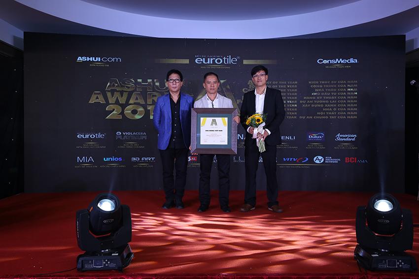 USG Boral Việt Nam được Ashui bình chọn là Hãng kỹ thuật của năm 2