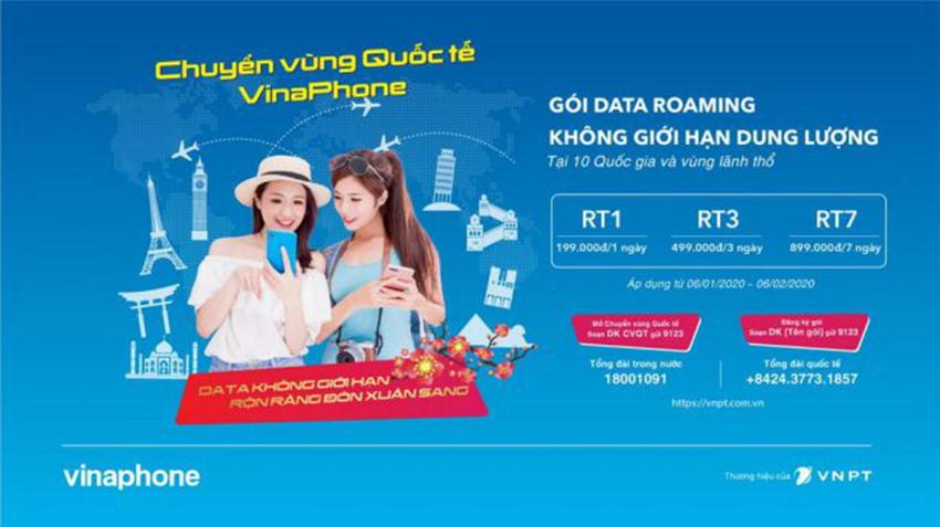 VinaPhone lần đầu tiên ra mắt gói cước Data chuyển vùng quốc tế không giới hạn dung lượng - 2