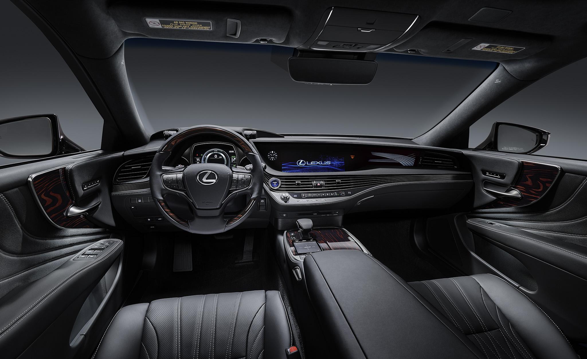 Lexus giới thiệu ES và LS mới, sử dụng động cơ Hybrid tại Việt Nam - 3