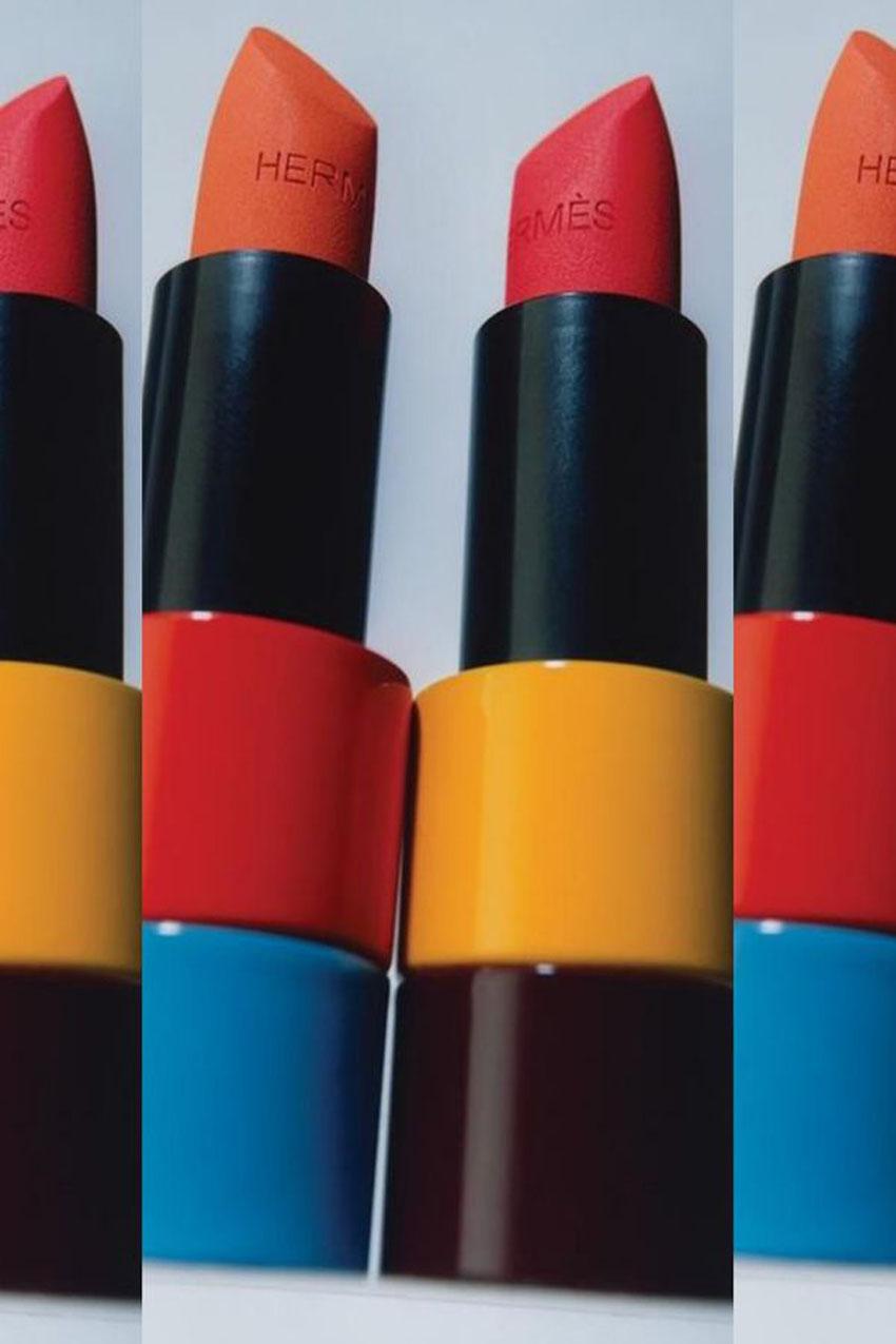 Hermès ra mắt dòng trang điểm mới Rouge Hermès, với 24 thỏi son được lấy cảm hứng từ túi Birkin - 01
