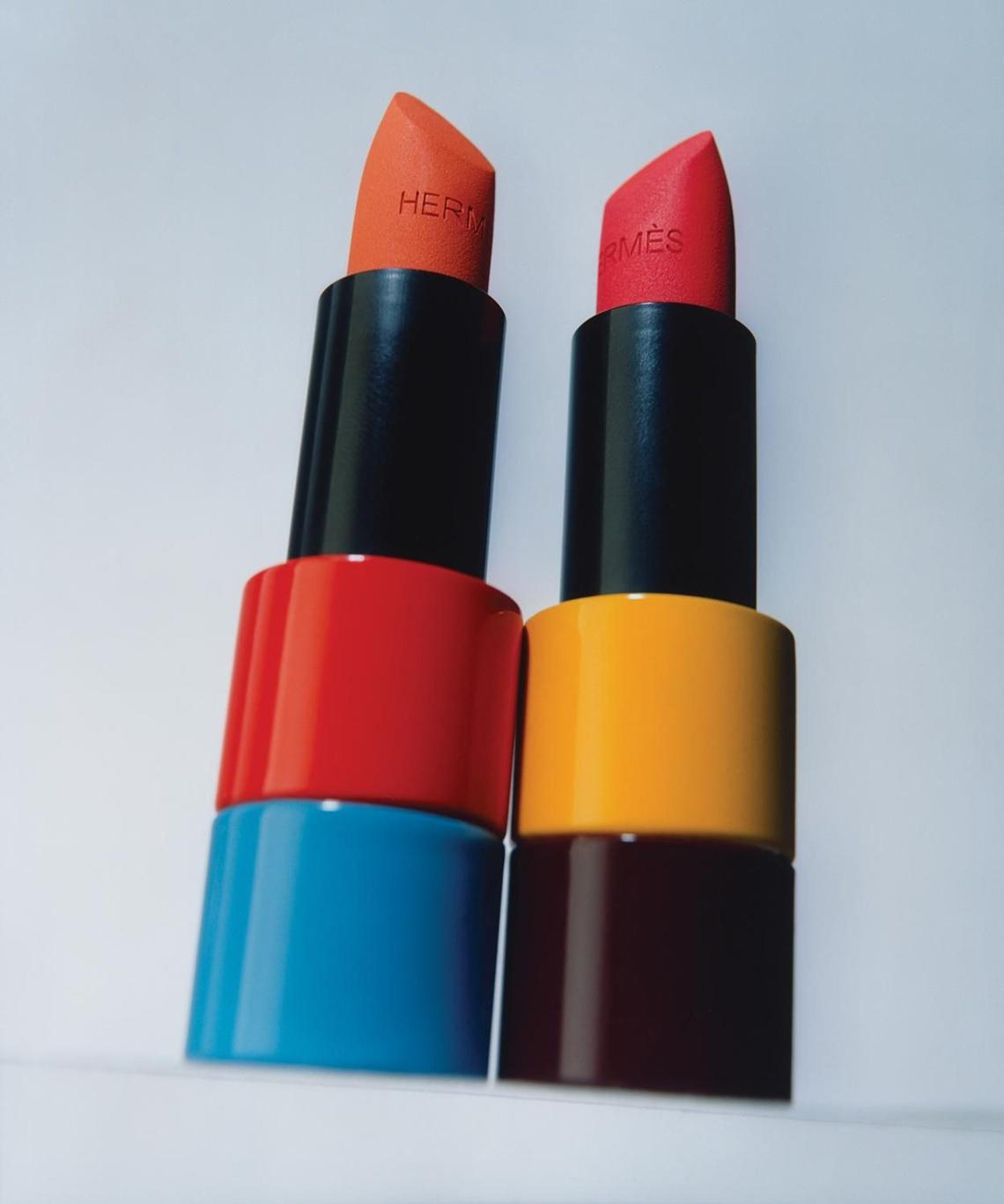 Hermès ra mắt dòng trang điểm mới Rouge Hermès, với 24 thỏi son được lấy cảm hứng từ túi Birkin - 04