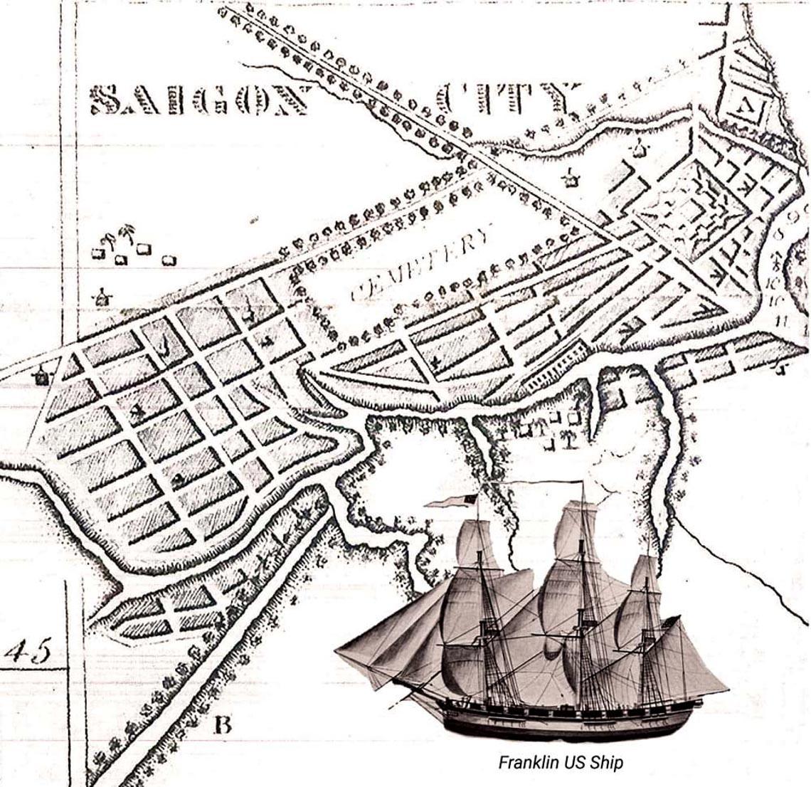 200 năm trước tàu Mỹ tới Sài Gòn: Mối giao tình dang dở -2