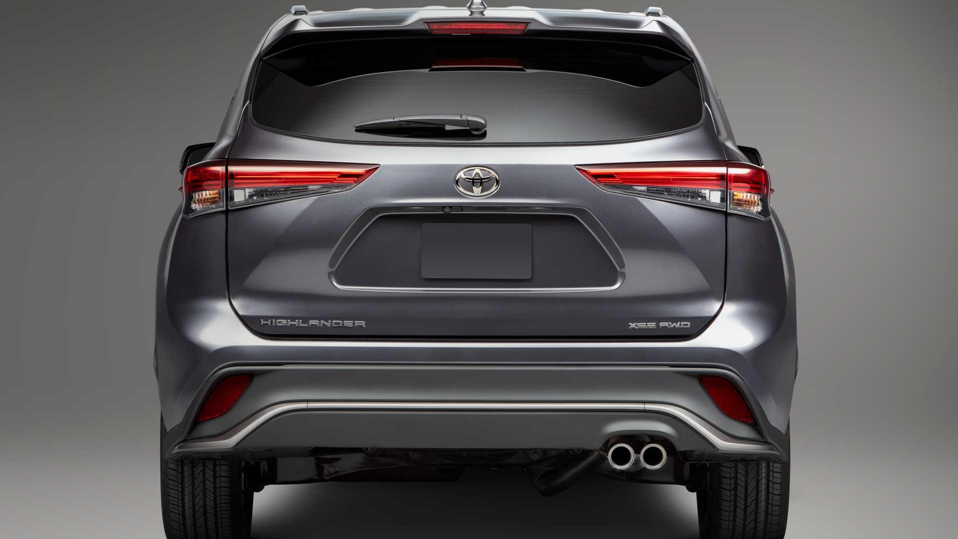 Toyota Highlander XSE 2021 hoàn toàn mới, đậm chất thể thao - 11