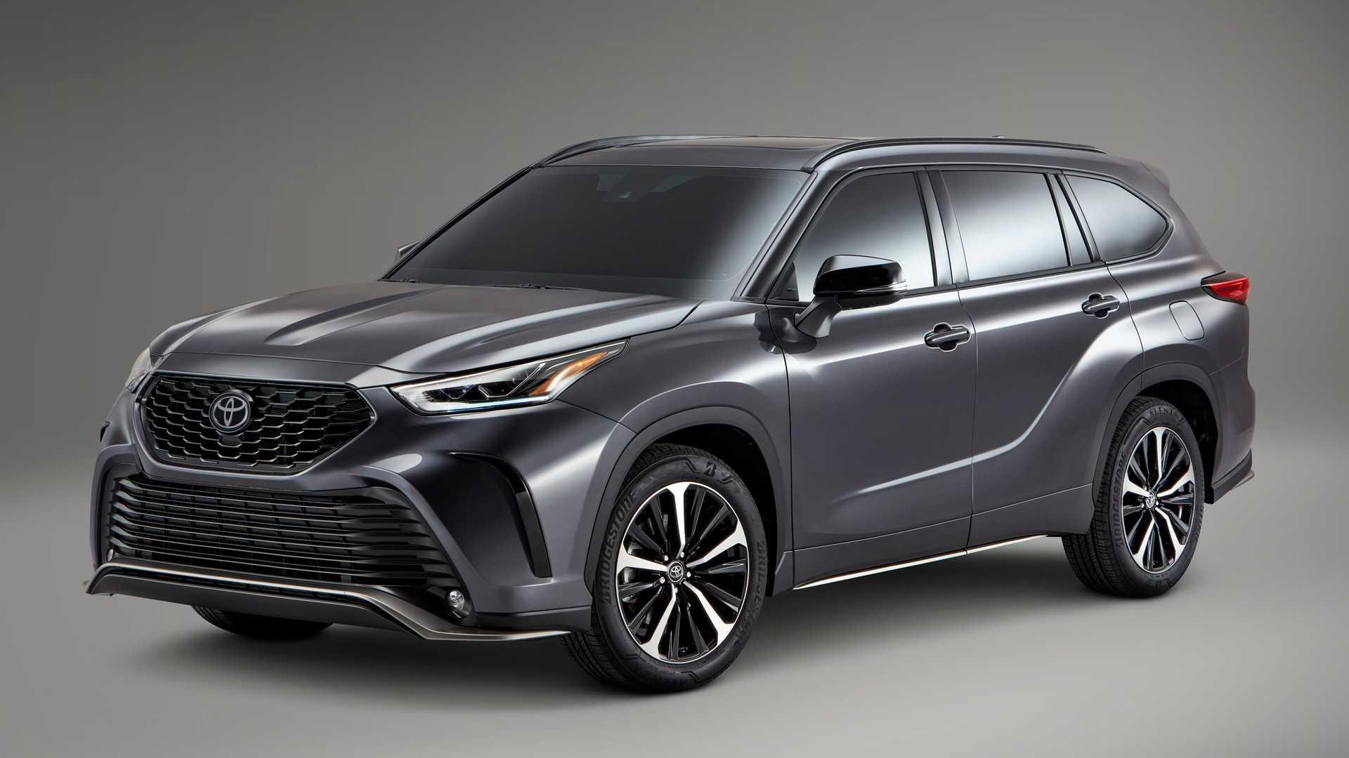 Toyota Highlander XSE 2021 hoàn toàn mới, đậm chất thể thao - 12