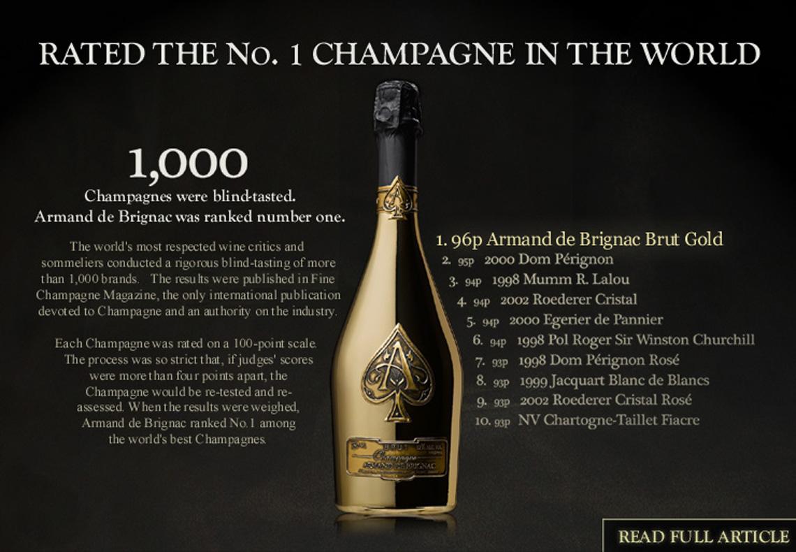 Armand de Brignac - Champagne cho người sành sỏi - 03