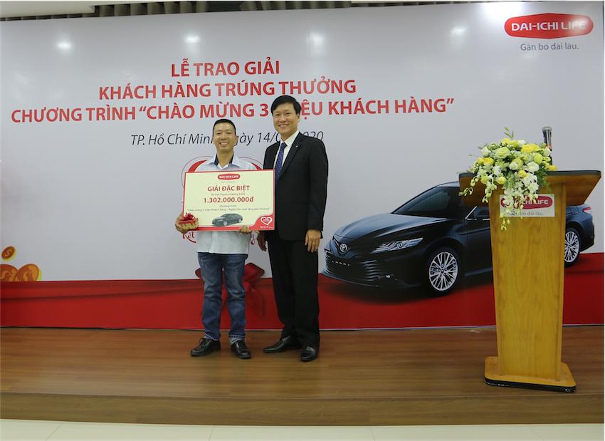 """Dai-ichi Life Việt Nam trao giải """"Chào mừng 3 triệu khách hàng"""" - 2"""