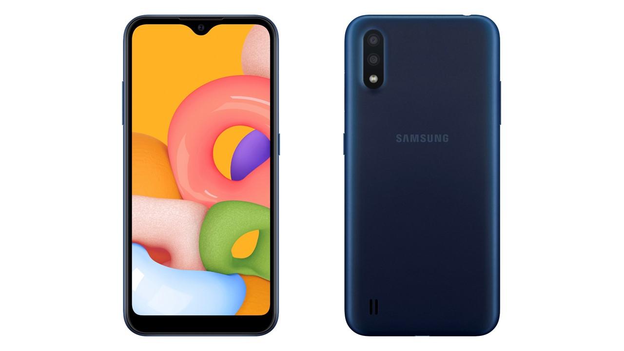 Samsung ra mắt Galaxy A01 - chip Snapdragon 439 - 2