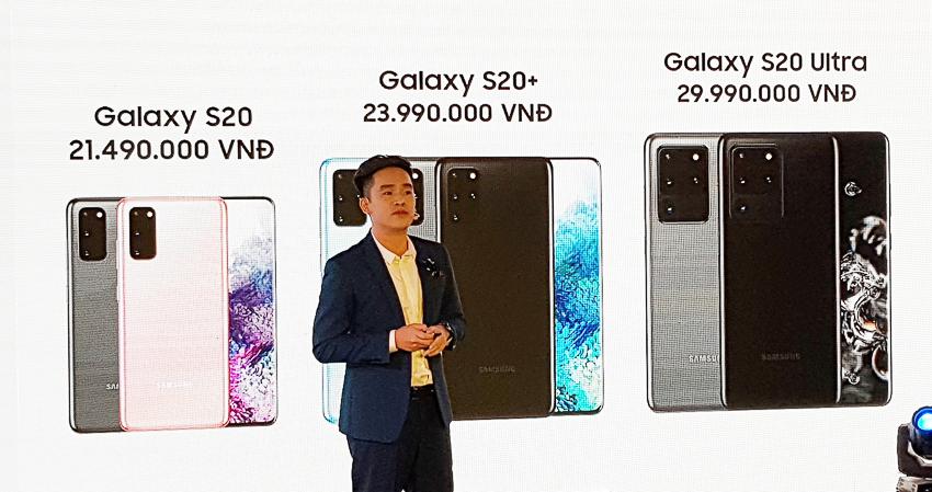 Galaxy S20 series ra mắt tại Việt Nam 30