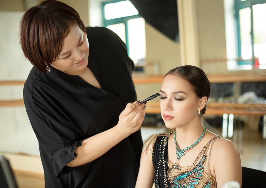 Shiseido cùng vận động viên trượt băng nghệ thuật Alina Zagitova ra mắt BST makeup mới - 13