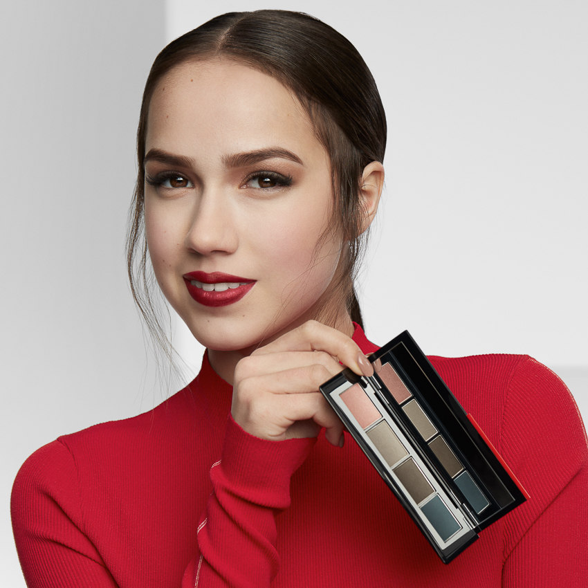 Shiseido cùng vận động viên trượt băng nghệ thuật Alina Zagitova ra mắt BST makeup mới - 02